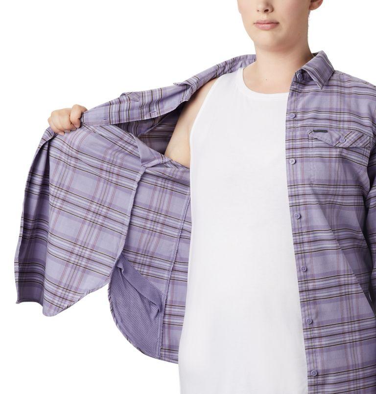 Haut à manches longues en flanelle Silver Ridge™ pour femme Haut à manches longues en flanelle Silver Ridge™ pour femme, a2