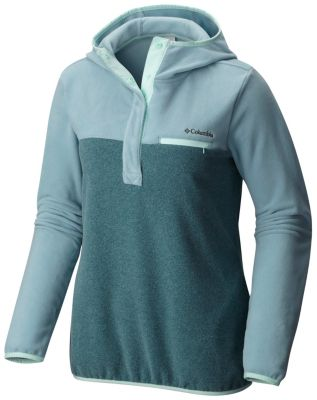 Women's Mountain Side™ Hooded Pull Over Fleece Jacket