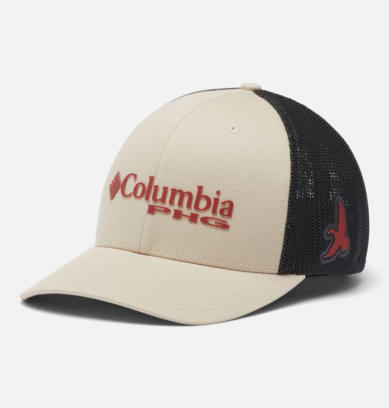 PHG Mesh™ Ball Cap | 160 | S/M PHG Mesh™ Ball Cap, Fossil, Red Oxide, Bird, front