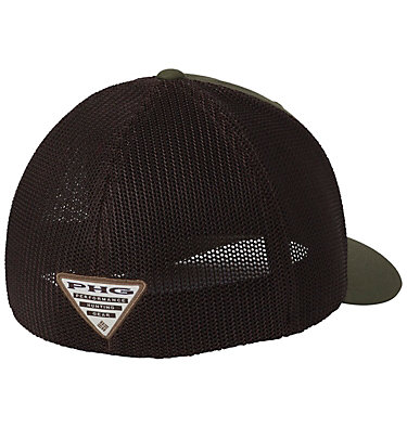 Casquette de baseball PHG Mesh™ PHG Mesh™ Ball Cap | 251 | L/XL, Surplus Green, Camo Patch, back