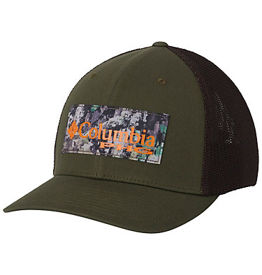 Casquette de baseball PHG Mesh™ PHG Mesh™ Ball Cap | 251 | L/XL, Surplus Green, Camo Patch, front
