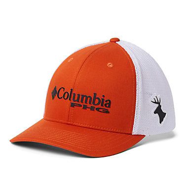 PHG Mesh™ Ball Cap PHG Mesh™ Ball Cap | 160 | L/XL, Backcountry Orange, Deer, front