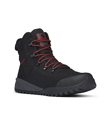 Men's Fairbanks Omni-Heat Boots FAIRBANKS™ OMNI-HEAT™ | 033 | 8, Black, Rusty, 3/4 front