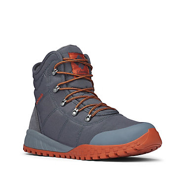 Men's Fairbanks Omni-Heat Boots FAIRBANKS™ OMNI-HEAT™ | 033 | 8, Graphite, Dark Adobe, 3/4 front
