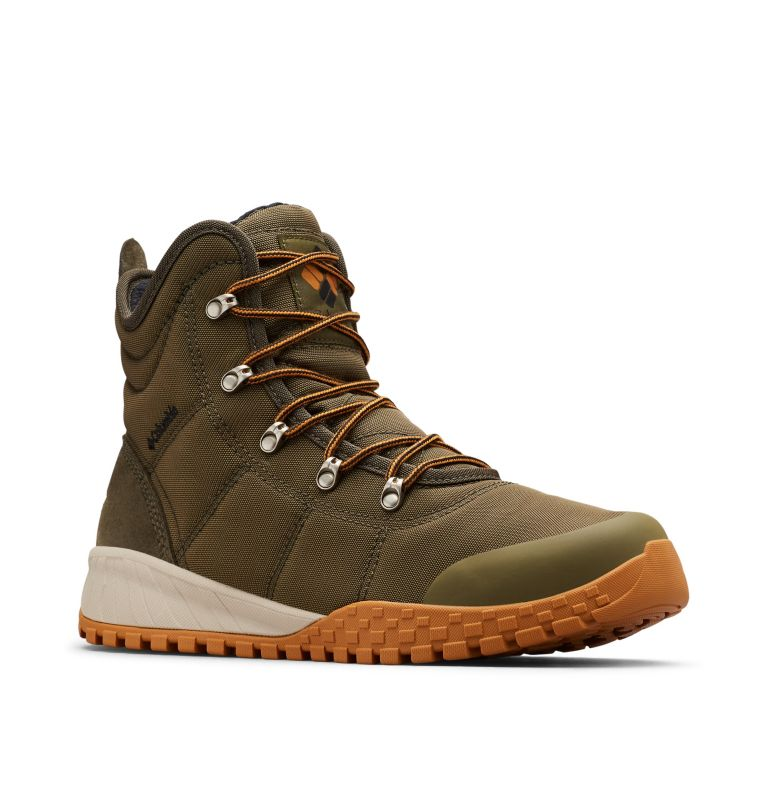 FAIRBANKS™ OMNI-HEAT™ | 384 | 9.5 Men's Fairbanks™ Omni-Heat™ Boot, Nori, Canyon Gold, 3/4 front