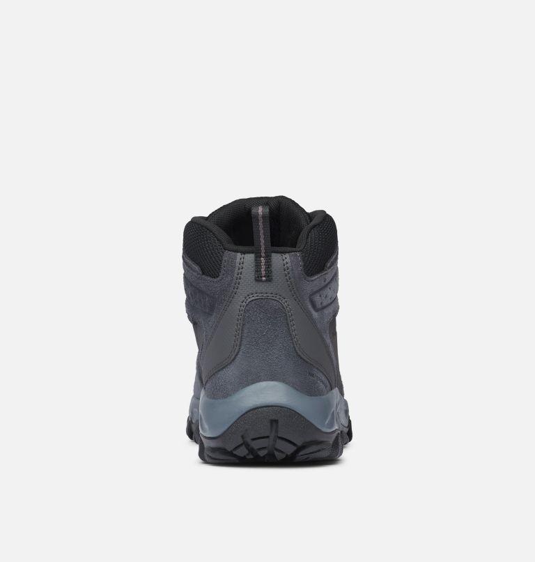 NEWTON RIDGE™ PLUS II SUEDE WP | 011 | 17 Men's Newton Ridge™ Plus II Suede Waterproof Hiking Boot, Shark, Black, back