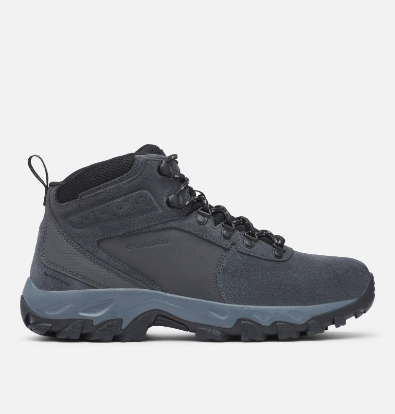 NEWTON RIDGE™ PLUS II SUEDE WP | 011 | 13 Men's Newton Ridge™ Plus II Suede Waterproof Hiking Boot, Shark, Black, front