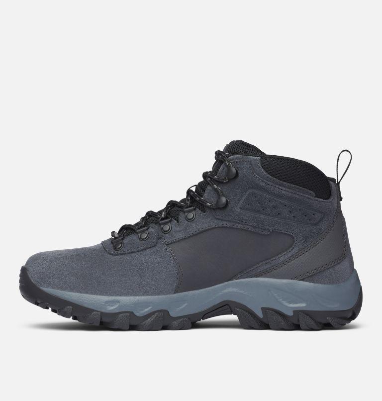 NEWTON RIDGE™ PLUS II SUEDE WP | 011 | 17 Men's Newton Ridge™ Plus II Suede Waterproof Hiking Boot, Shark, Black, medial