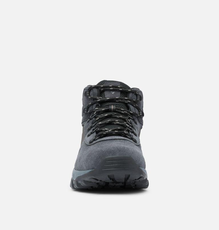 NEWTON RIDGE™ PLUS II SUEDE WP | 011 | 17 Men's Newton Ridge™ Plus II Suede Waterproof Hiking Boot, Shark, Black, toe