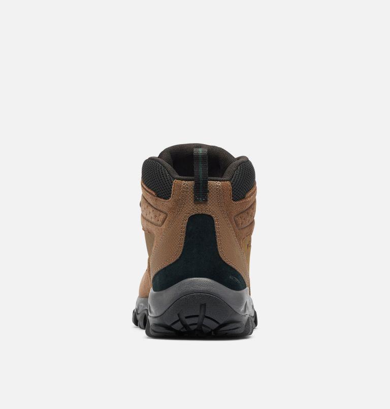 NEWTON RIDGE™ PLUS II SUEDE WP | 202 | 16 Men's Newton Ridge™ Plus II Suede Waterproof Hiking Boot, Dark Brown, Cyber Purple, back