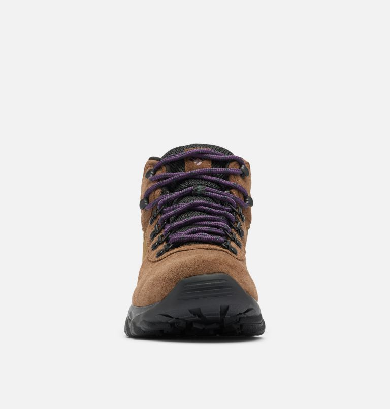 NEWTON RIDGE™ PLUS II SUEDE WP | 202 | 13 Men's Newton Ridge™ Plus II Suede Waterproof Hiking Boot, Dark Brown, Cyber Purple, toe