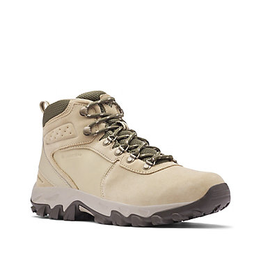Men's Newton Ridge™ Plus II Suede Waterproof Hiking Boot NEWTON RIDGE™ PLUS II SUEDE WP | 270 | 10, Twill, Nori, 3/4 front