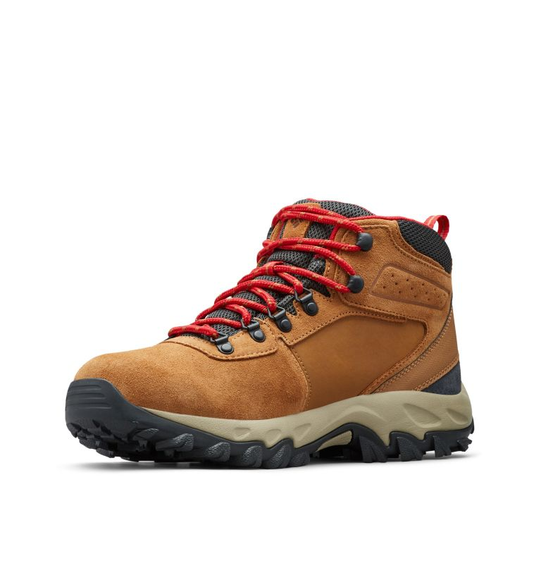 NEWTON RIDGE™ PLUS II SUEDE WP | 286 | 17 Men's Newton Ridge™ Plus II Suede Waterproof Hiking Boot, Elk, Mountain Red