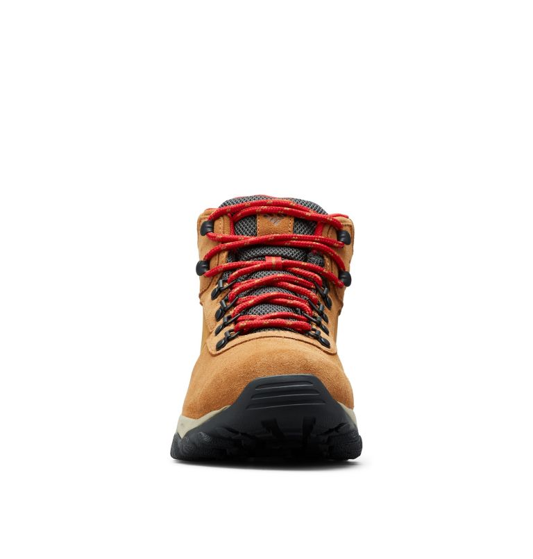 NEWTON RIDGE™ PLUS II SUEDE WP | 286 | 15 Men's Newton Ridge™ Plus II Suede Waterproof Hiking Boot, Elk, Mountain Red, toe