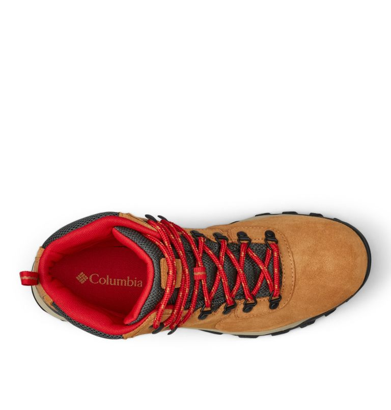 NEWTON RIDGE™ PLUS II SUEDE WP | 286 | 15 Men's Newton Ridge™ Plus II Suede Waterproof Hiking Boot, Elk, Mountain Red, top