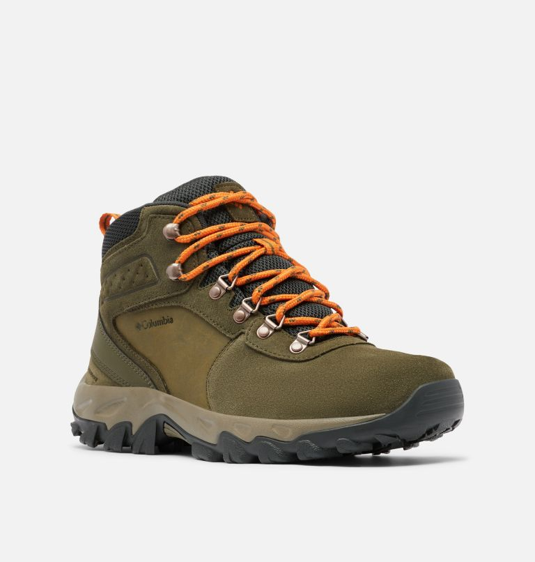 Men's Newton Ridge™ Plus II Suede Waterproof Hiking Boot Men's Newton Ridge™ Plus II Suede Waterproof Hiking Boot, 3/4 front