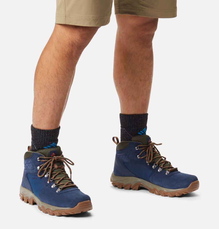 NEWTON RIDGE™ PLUS II SUEDE WP | 464 | 9 Men's Newton Ridge™ Plus II Suede Waterproof Hiking Boot, Collegiate Navy, Peatmoss, a9