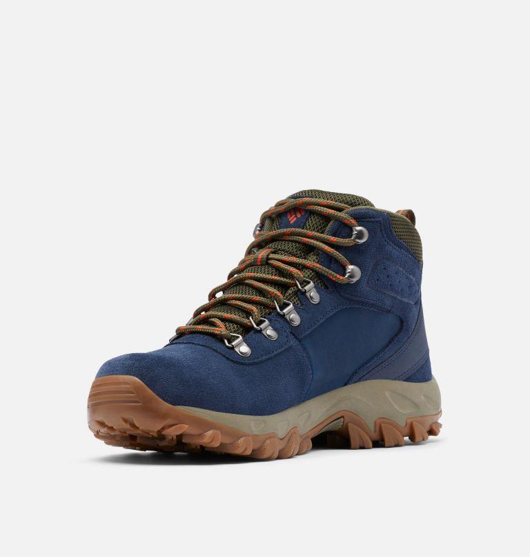 NEWTON RIDGE™ PLUS II SUEDE WP | 464 | 9 Men's Newton Ridge™ Plus II Suede Waterproof Hiking Boot, Collegiate Navy, Peatmoss