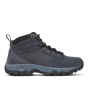 Men's Newton Ridge™ Plus II Suede Waterproof Hiking Boot - Wide NEWTON RIDGE™ PLUS II SUEDE WP WIDE | 270 | 13, Shark, Black, front