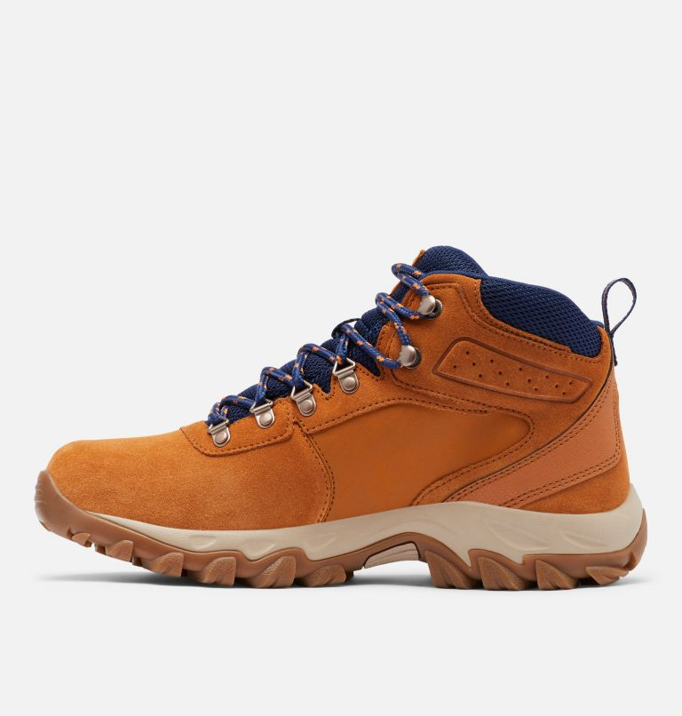 Men's Newton Ridge™ Plus II Suede Waterproof Hiking Boot - Wide Men's Newton Ridge™ Plus II Suede Waterproof Hiking Boot - Wide, medial