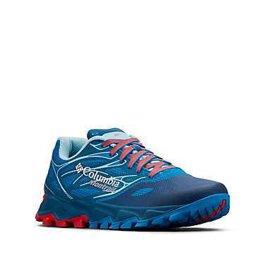 Women's Trans Alps F.K.T. II Shoes TRANS ALPS™ F.K.T.™ II | 458 | 10, Deep Ocean, Red Camellia, 3/4 front