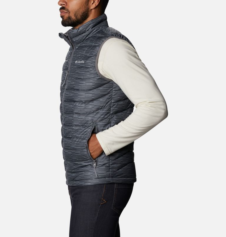 Powder Lite™ Vest | 025 | 3XT Men's Powder Lite™ Vest - Tall, City Grey Columns, a1
