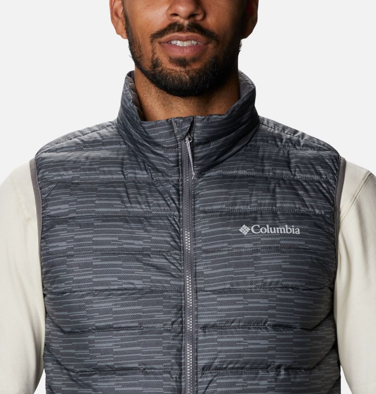 Powder Lite™ Vest | 025 | 3XT Men's Powder Lite™ Vest - Tall, City Grey Columns, a2