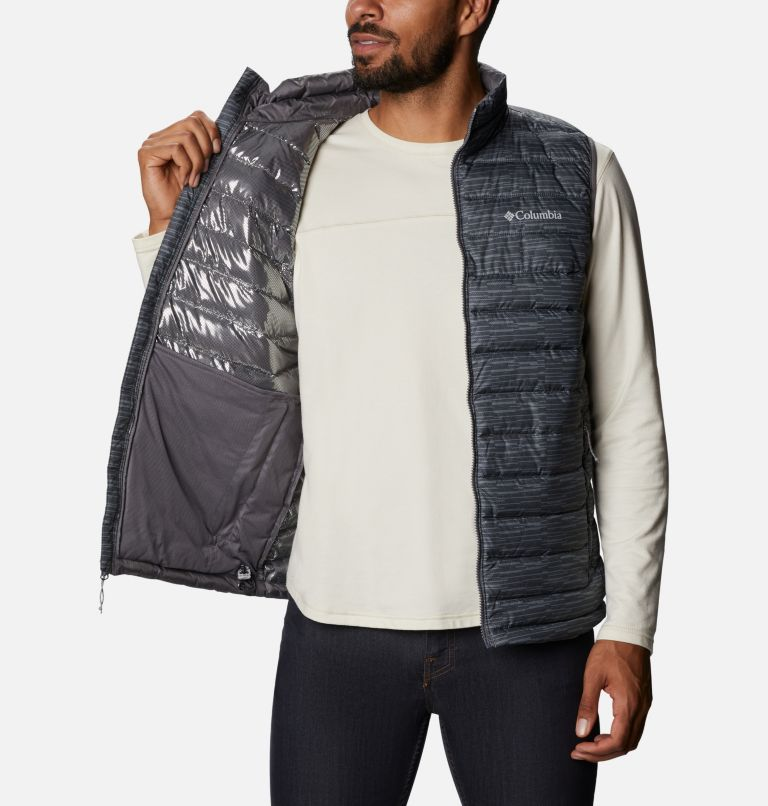 Powder Lite™ Vest | 025 | 3XT Men's Powder Lite™ Vest - Tall, City Grey Columns, a3