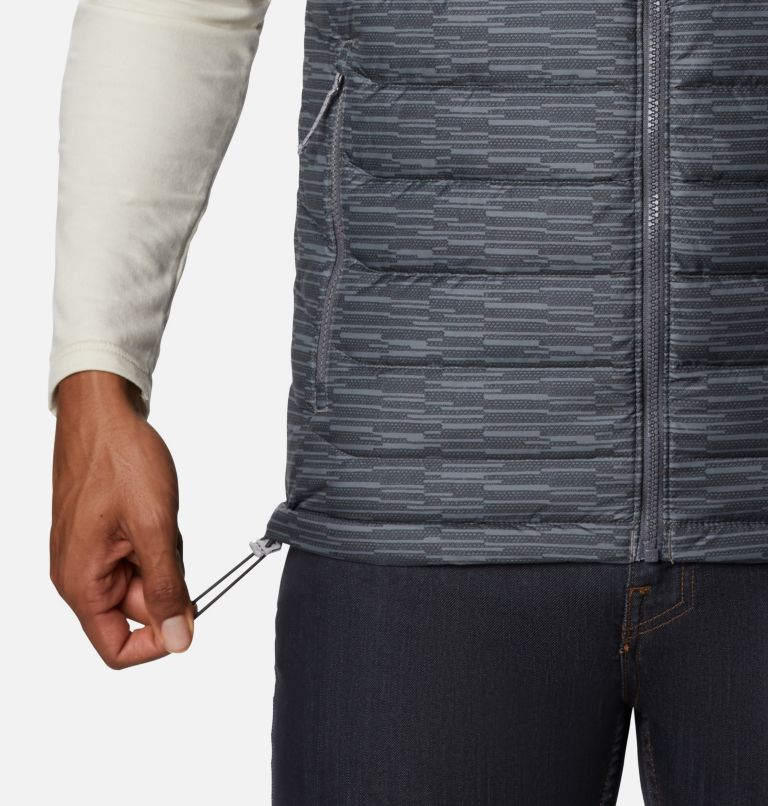 Powder Lite™ Vest | 025 | 3XT Men's Powder Lite™ Vest - Tall, City Grey Columns, a5