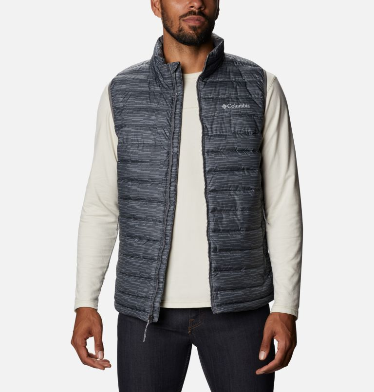 Powder Lite™ Vest | 025 | 3XT Men's Powder Lite™ Vest - Tall, City Grey Columns, front