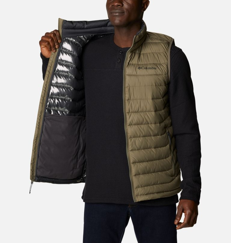 Powder Lite™ Vest   398   3XT Powder Lite™ Vest, Stone Green, a3