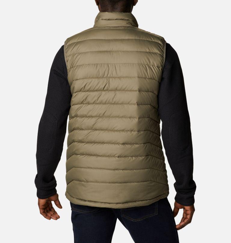 Powder Lite™ Vest   398   3XT Powder Lite™ Vest, Stone Green, back