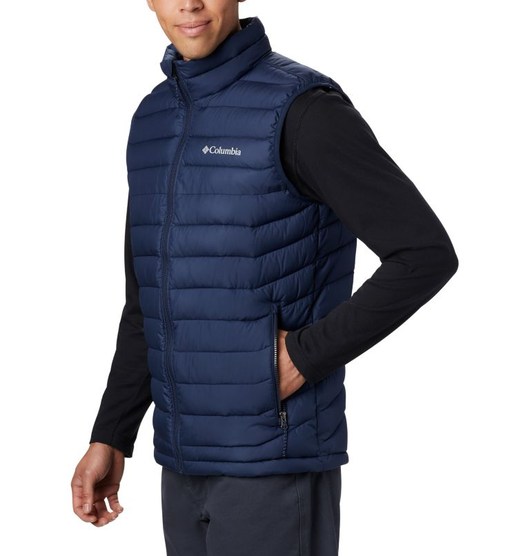 Powder Lite™ Vest | 465 | 2XT Men's Powder Lite™ Vest - Tall, Collegiate Navy, a1