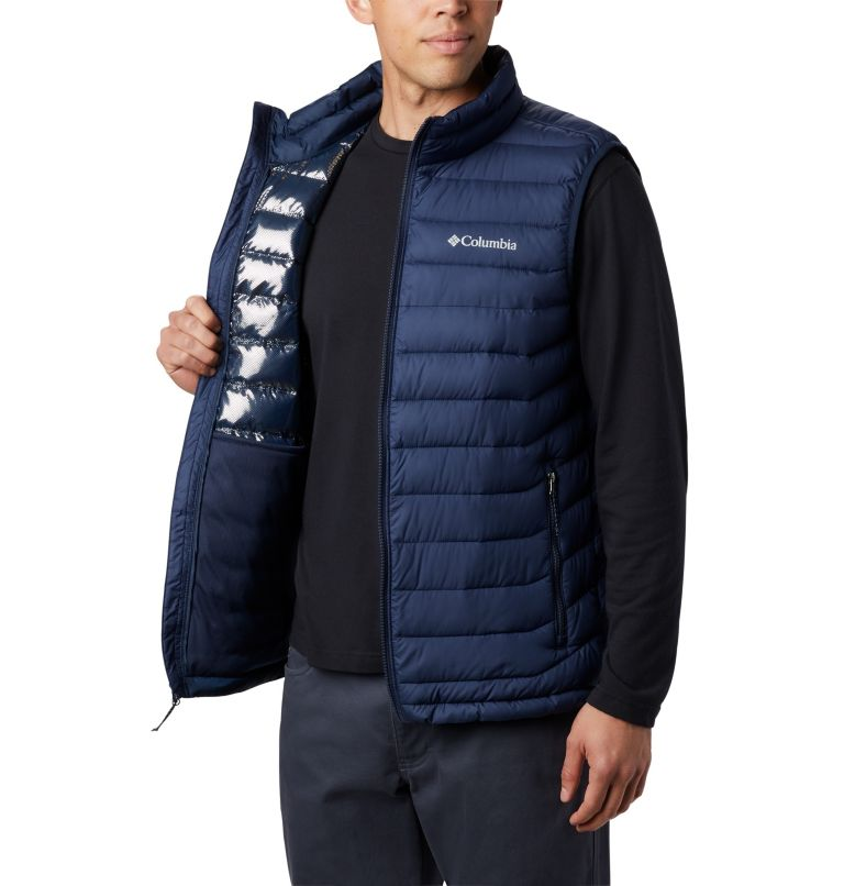 Powder Lite™ Vest | 465 | 2XT Men's Powder Lite™ Vest - Tall, Collegiate Navy, a2