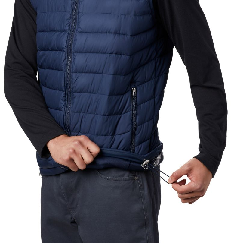 Powder Lite™ Vest | 465 | 2XT Men's Powder Lite™ Vest - Tall, Collegiate Navy, a3