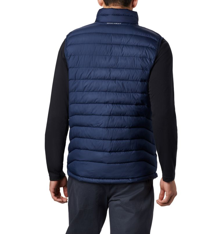 Powder Lite™ Vest | 465 | 2XT Men's Powder Lite™ Vest - Tall, Collegiate Navy, back