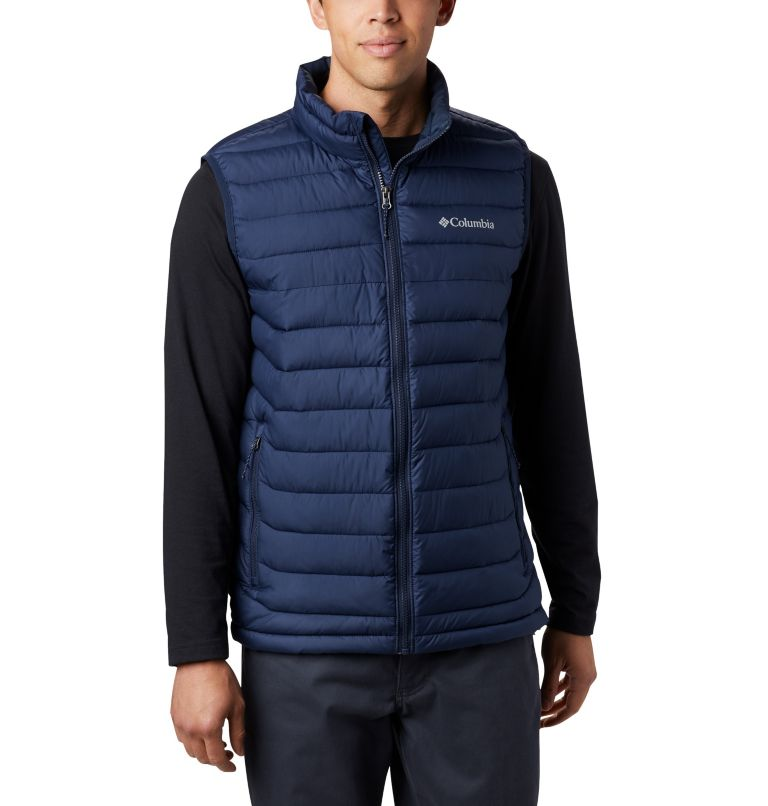 Powder Lite™ Vest | 465 | 2XT Men's Powder Lite™ Vest - Tall, Collegiate Navy, front
