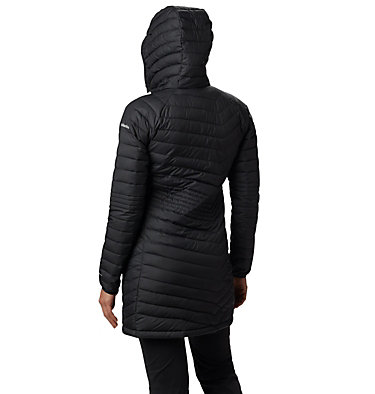 Powder Lite™ Mid Jacke für Damen Powder Lite™ Mid Jacket | 011 | XS, Black, back