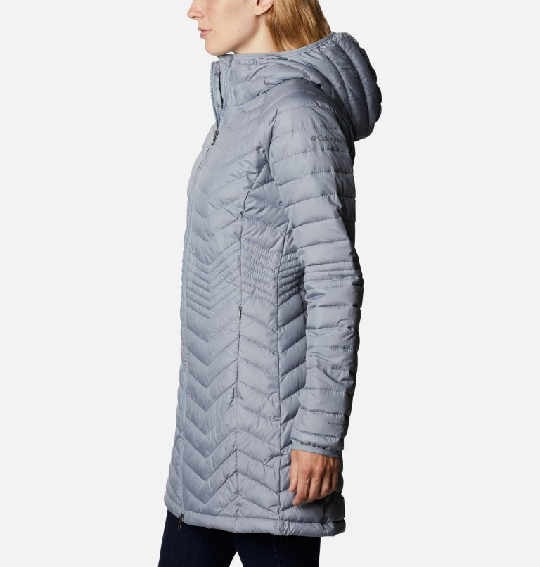 Powder Lite™ Mid Jacket | 032 | XS Women's Powder Lite™ Mid Jacket, Tradewinds Grey, a1