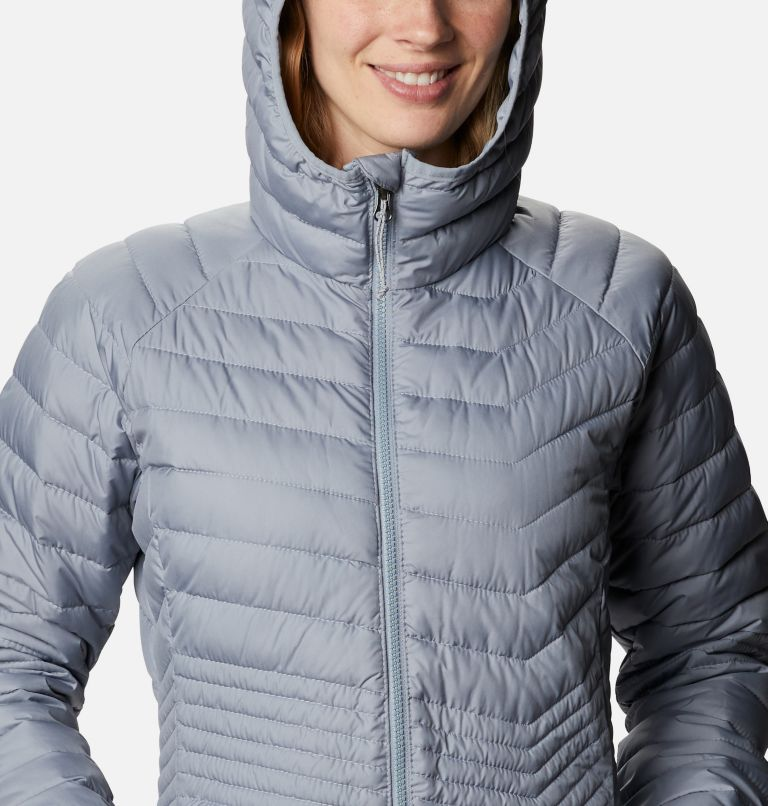 Powder Lite™ Mid Jacket | 032 | XL Women's Powder Lite™ Mid Jacket, Tradewinds Grey, a2