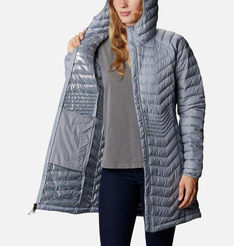 Powder Lite™ Mid Jacket | 032 | XS Women's Powder Lite™ Mid Jacket, Tradewinds Grey, a3