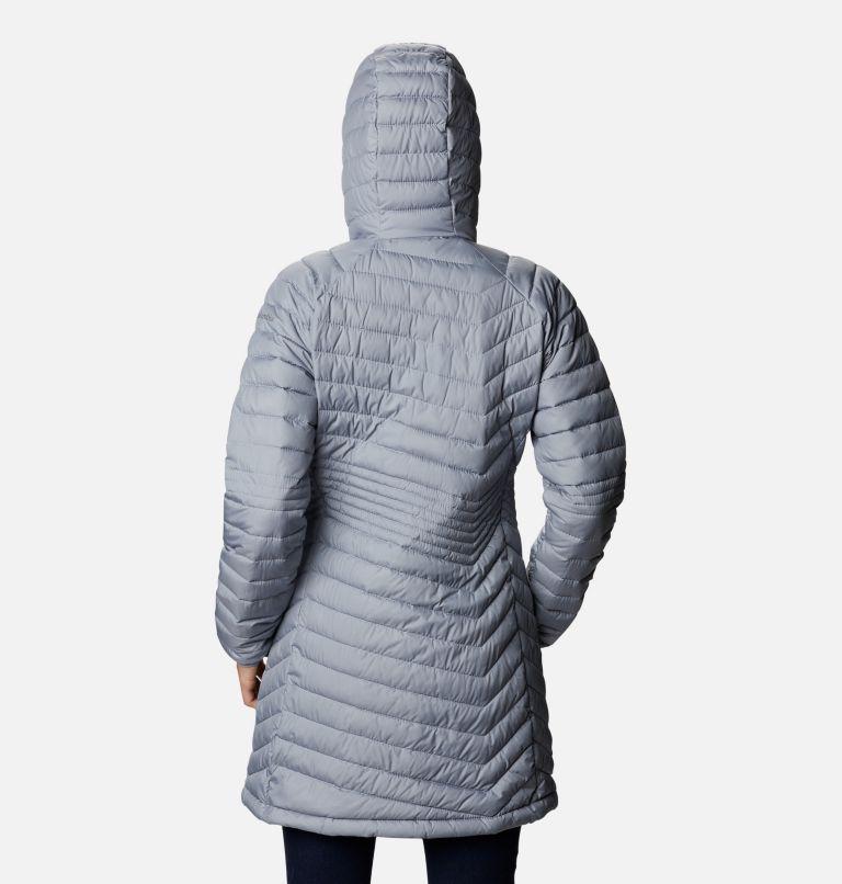 Powder Lite™ Mid Jacket | 032 | XS Women's Powder Lite™ Mid Jacket, Tradewinds Grey, back