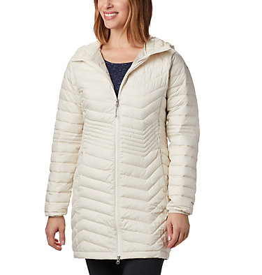 Powder Lite™ Mid Jacke für Damen Powder Lite™ Mid Jacket | 011 | XS, Chalk, front