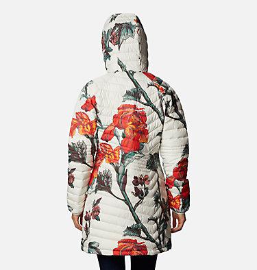 Chaqueta Powder Lite™ Mid para mujer Powder Lite™ Mid Jacket | 192 | XS, Chalk Botanica Print, back