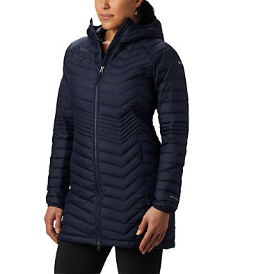 Powder Lite™ Mid Jacke für Damen Powder Lite™ Mid Jacket | 011 | XS, Dark Nocturnal, front