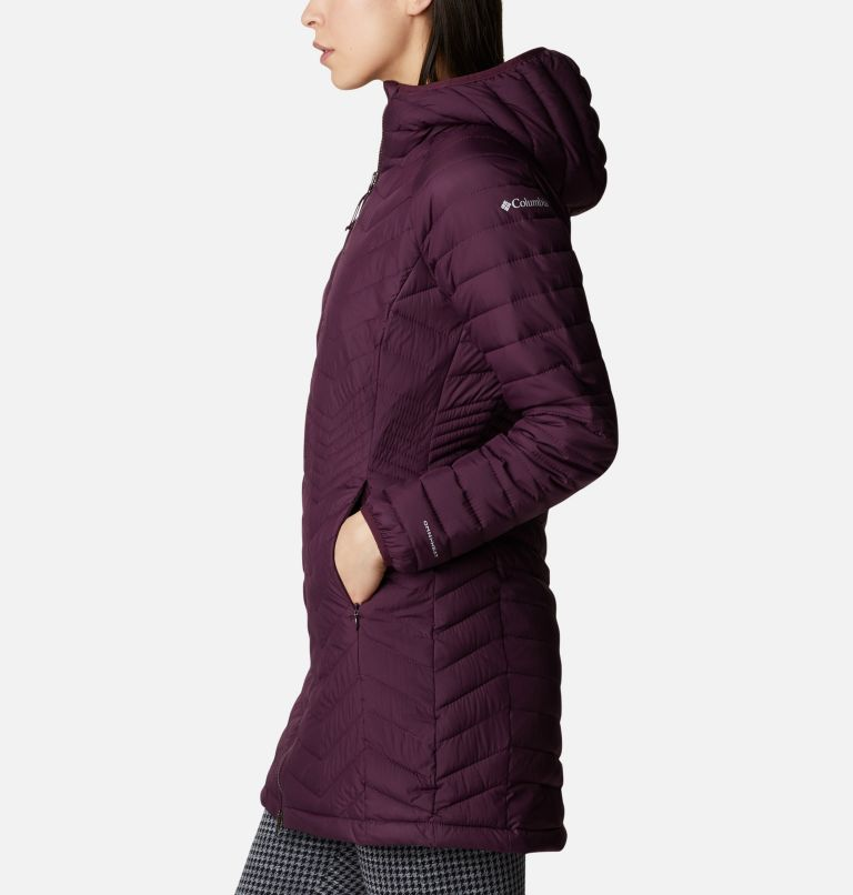 Powder Lite™ Mid Jacket | 522 | L Women's Powder Lite™ Mid Jacket, Black Cherry, a1