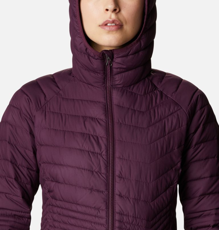 Powder Lite™ Mid Jacket | 522 | L Women's Powder Lite™ Mid Jacket, Black Cherry, a2