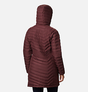 Women's Powder Lite™ Mid Jacket Powder Lite™ Mid Jacket | 370 | XS, Malbec, back