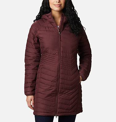 Women's Powder Lite™ Mid Jacket Powder Lite™ Mid Jacket | 370 | XS, Malbec, front