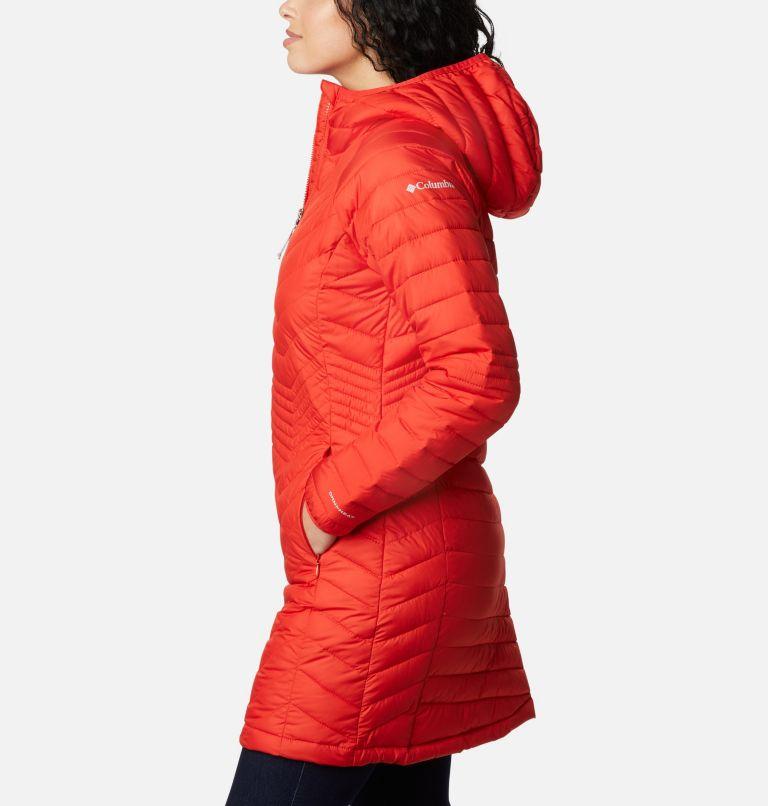 Powder Lite™ Mid Jacket   843   S Women's Powder Lite™ Mid Jacket, Bold Orange, a1